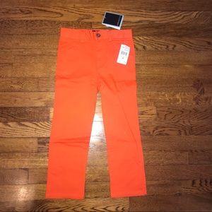 Boys Andy and Evan orange dress pants